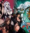 Lady death vamirella and witchblade fusion