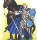 Wolfsritter mit Pferd