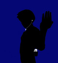 rock lee   ipod   blue
