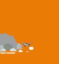 winged freedom orange