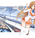 mirai wallpaper large winter